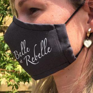 Mondmasker `Belle et Rebelle`