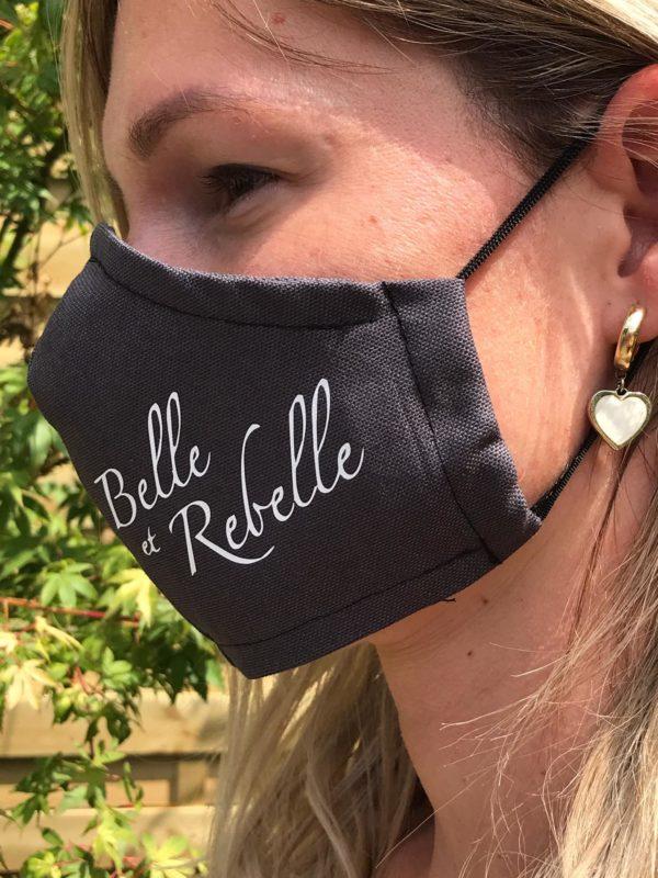 Mondmasker Belle et Rebelle